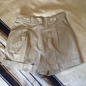 Vintage 80s Khaki Shorts